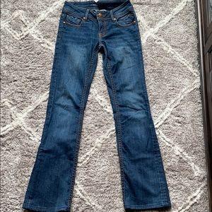 Vigoss studio jeans with slight bootcut leg